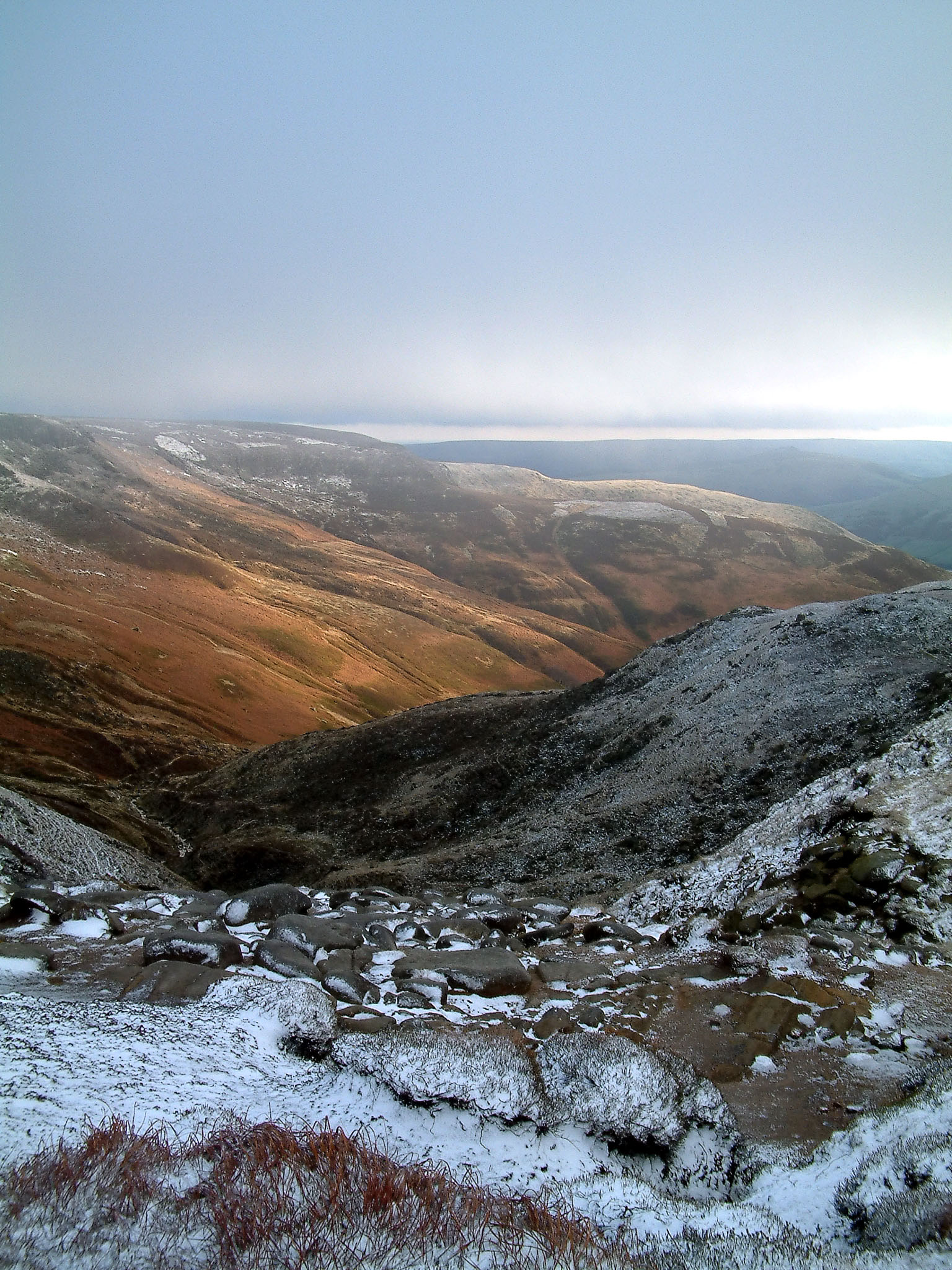 Down Grinsbrook from summit
