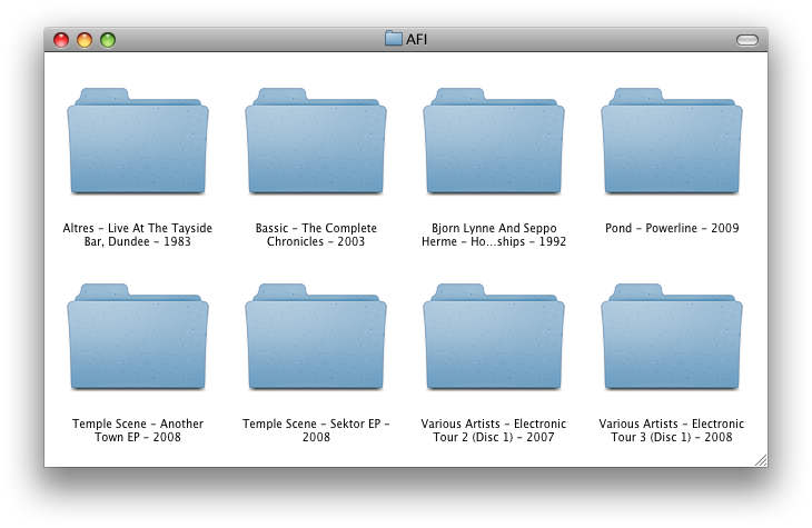 Folder Icons Mac Custo...