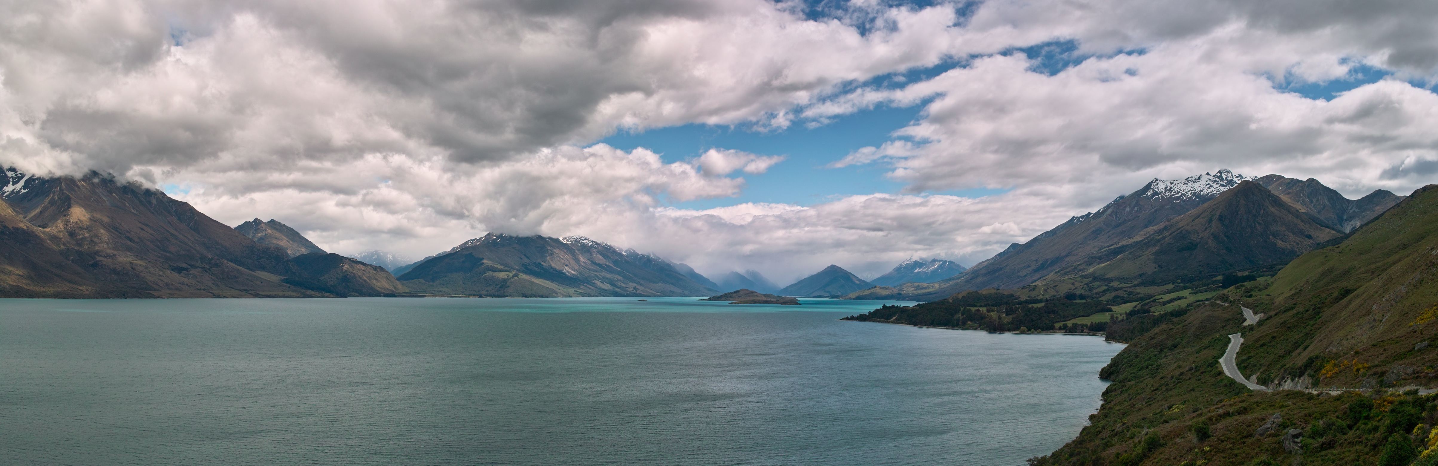 Lake Wakatipu from the Glenorchy-Queenstown Road