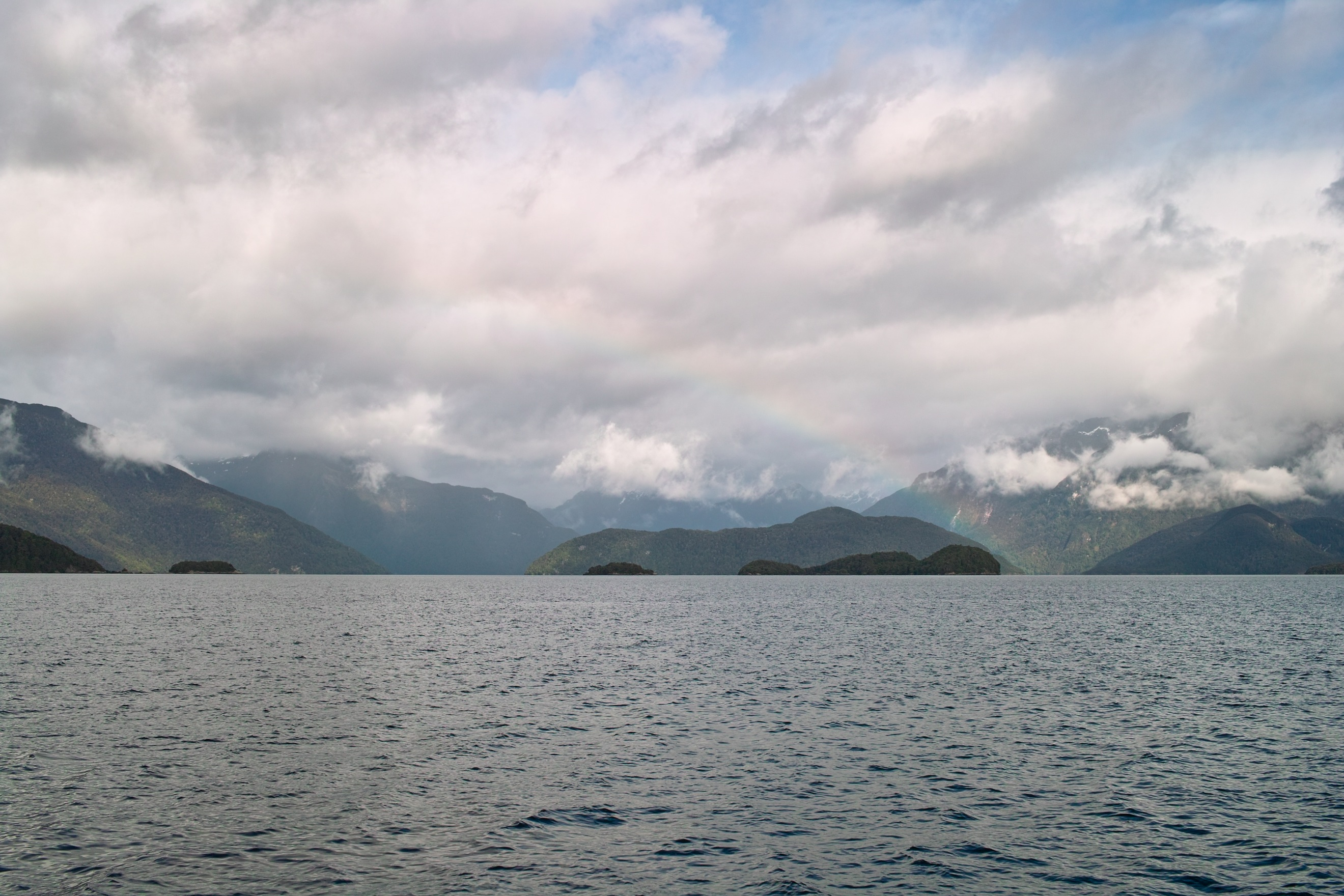 2697 - View from the Lake Manapouri ferry to West Arm
