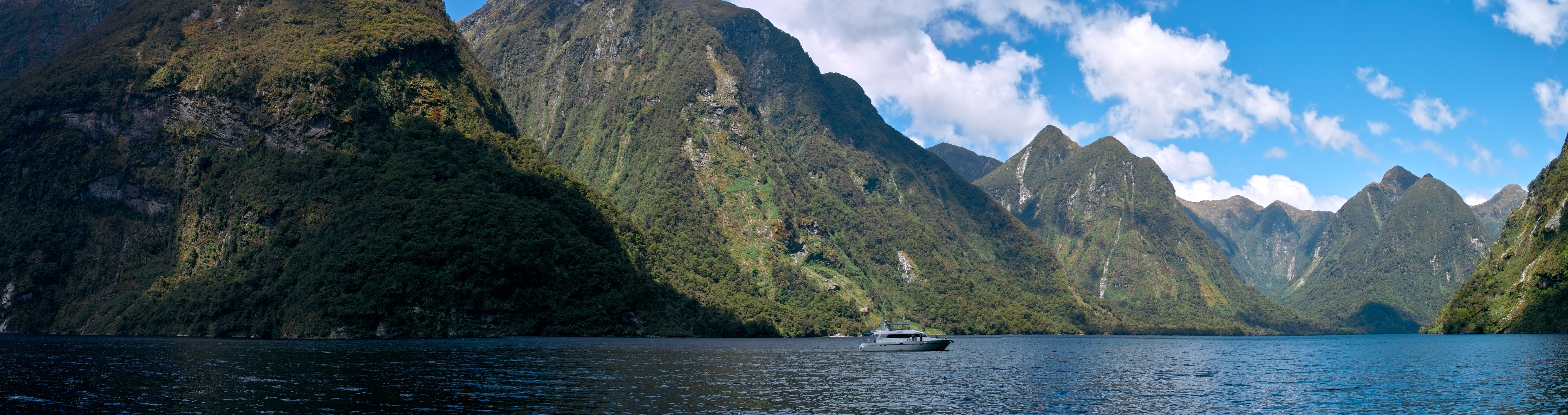 Inlet at Doubtful Sound